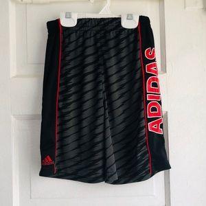 3/$30 adidas climalite athletic shorts size 7 boys